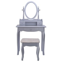 Silver Wooden Wrought Iron Wholesale Acrylic Dressing Table