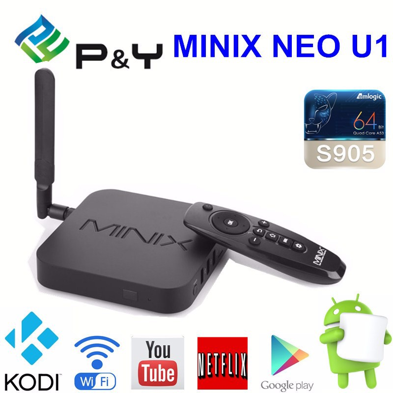 2016 High Performance ! MINIX NEO <strong>U1</strong> 64-Bit Super HD 4K Streaming Media Players <strong>Cable</strong> TV Set Top