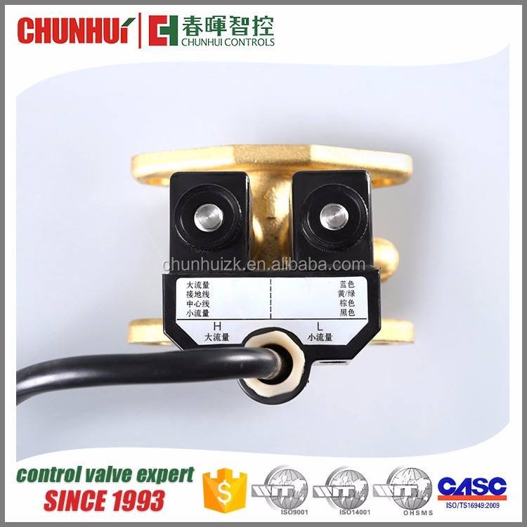 diesel fuel solenoid valve for fuel dispenser
