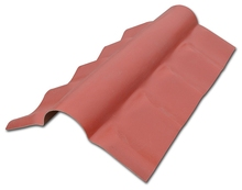 Roma 1080 Anti UV waterproof pvc roma roof sheet/ tile roof clear fiberglass roofing