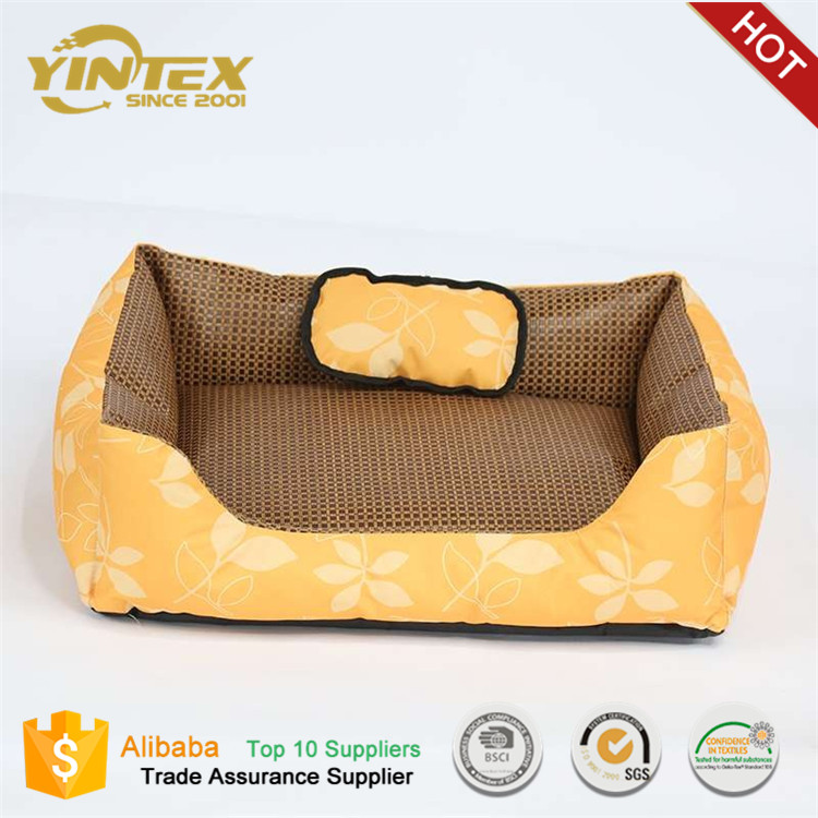 Pet Supplier Yintex Wholesale Cooling Dog Bed for Summer