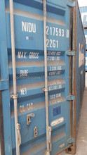 Cheap used container 20ft 40ft 40hc in Tianjin port