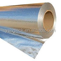 Outsunny 1000sqft Radiant Barrier Foil Insulation Reflective Solid Aluminum