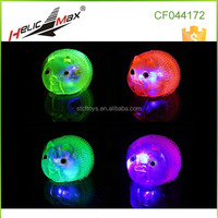 Lovely Pig Toy Flashing Gift Puff Ball Toys for Kids