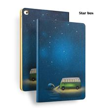 Bus Painting Case for iPad Mini 4, for ipad Covers, for iPad 8 inch Case