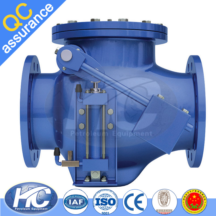 A 105 swing check / steam check valve / non return valve with custom-made