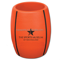 Custom Portable Soccer/Rugby Ball PU Can Cooler