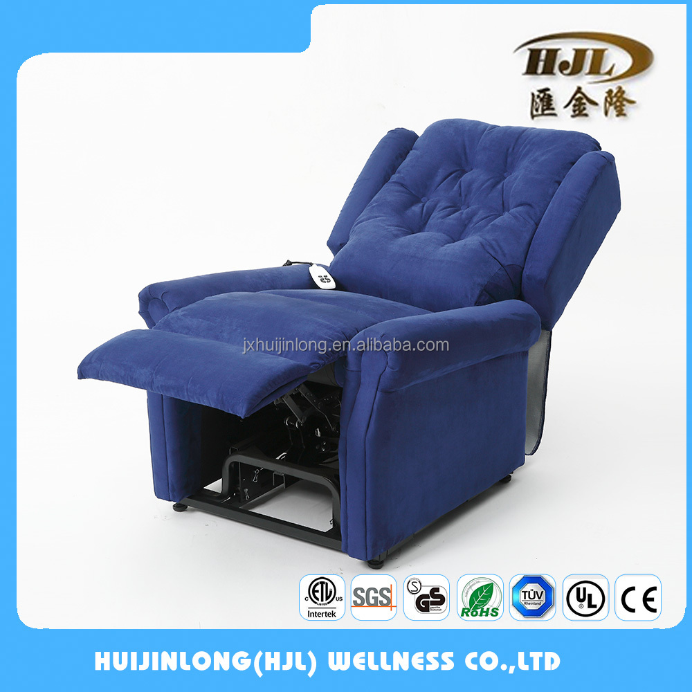 British style adjustable rise lift recliner sofa chair with German motor for elderly