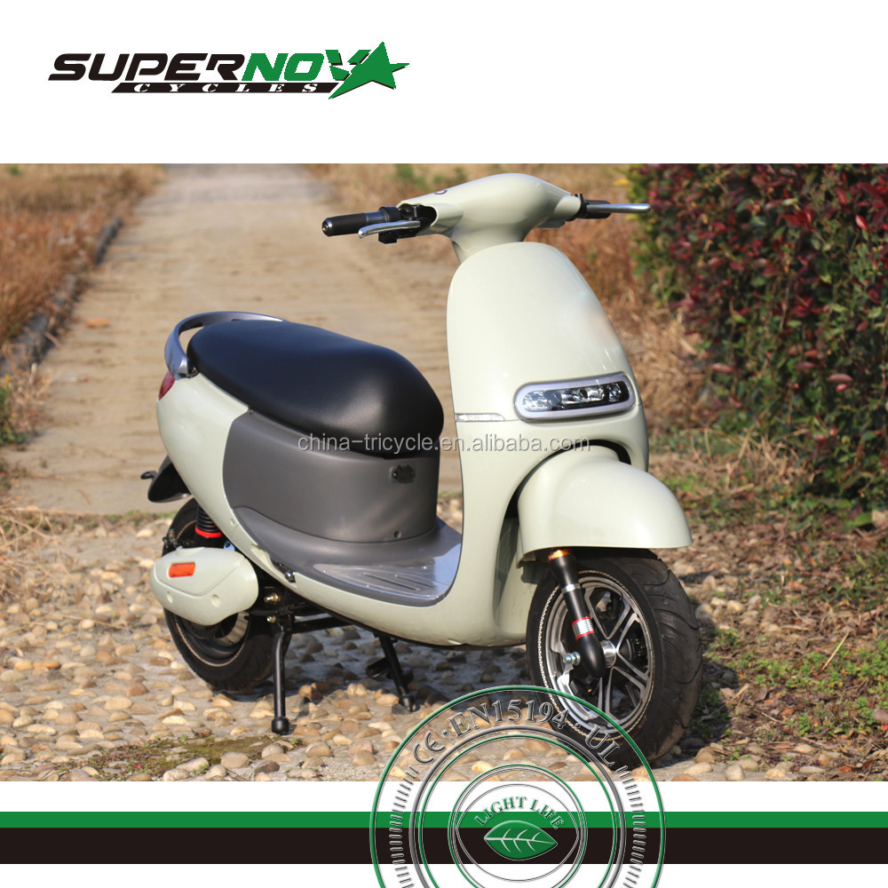 high quality 800w vespa electric scooter with LCD display