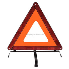 Designer latest red safety reflective traffic warning triangle for emergency