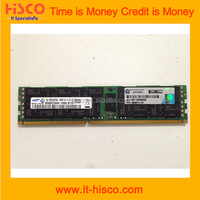 627808-B21 16GB (1x16GB) Dual Rank x4 PC3L-10600 (DDR3-1333) Registered CAS-9 LP Memory