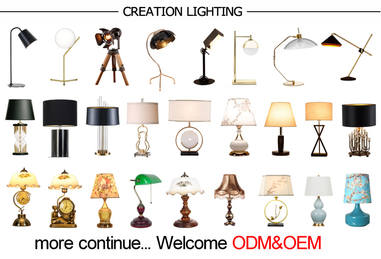New Design Home Decorative Table Lamp Made In China Factory Wholesale Price CE RoHS Certificate
