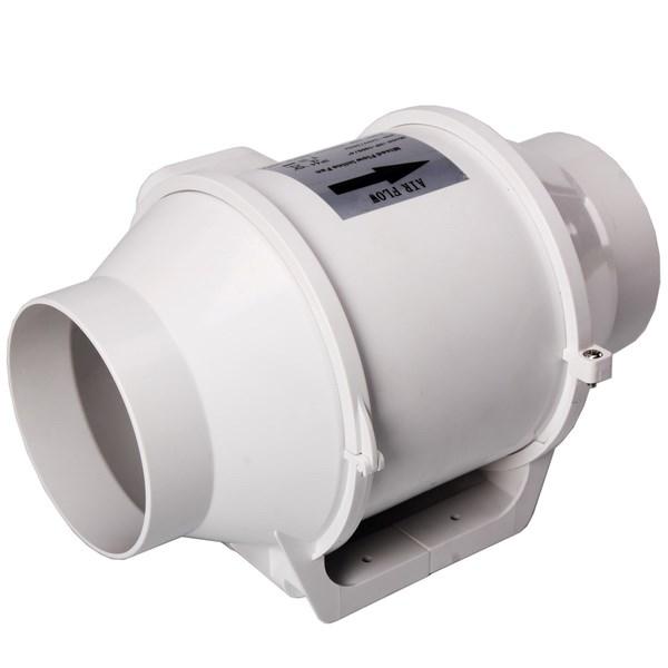 Indoor plant ventilation system 6 extractor inline duct for Indoor gardening ventilation system