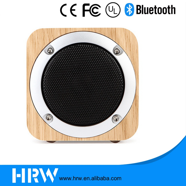 2017 High Quality Super Bass 6W Loudspeaker Wireless Speaker with Bluetooth 4.0 HRW-SM026