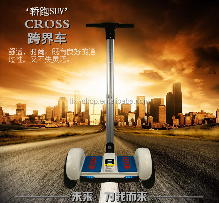 New Hot-selling 10inch Two Wheels Self Balancing Scooter With Bluetooth Speaker Handle Bar Model Two Wheel Scooter Wholesale