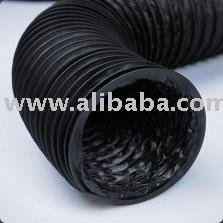 VINYLAFS - BLACK FLEXIBLE AIR DUCT