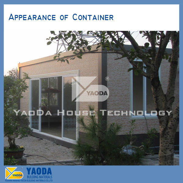 18years&UN supplier--20 feet Container house with two floor sold to Qatar