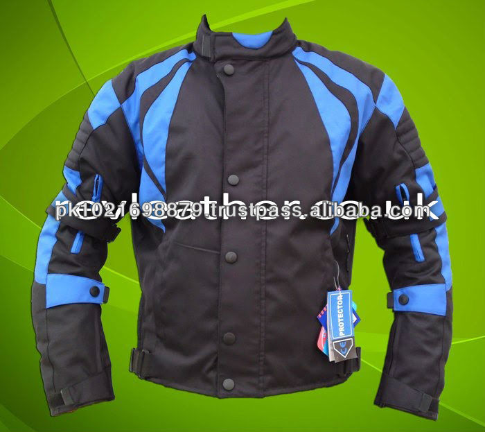 Men motorbike cordura jackets