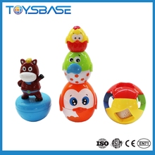 Wholesale educational toy baby plastic stacking cup toy