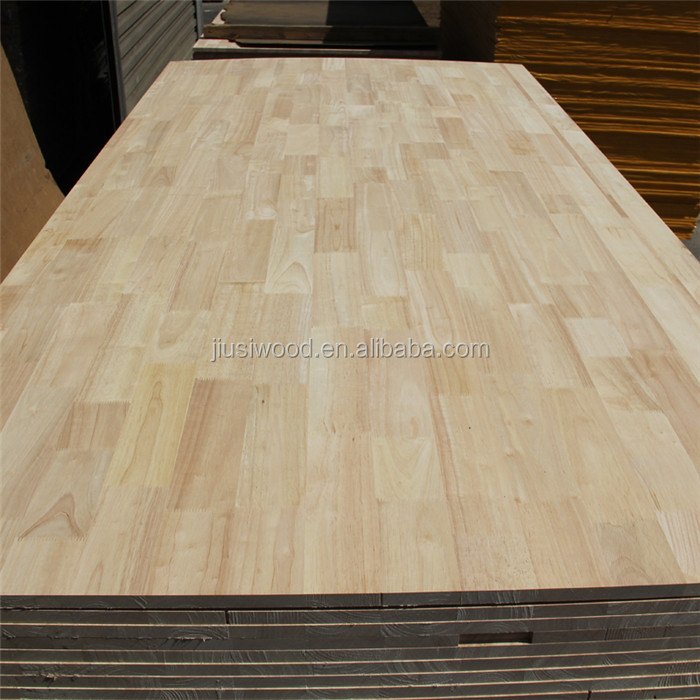 Chinese fir finger joint laminated board rubber wood finger joint board
