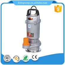 0.75HP hot sale high performance small CE certificate single phase agricutural garden submersible water pump