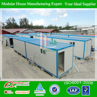 Movable 40 ft prefab container buildings designs