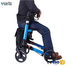 folding rollator walker for old people
