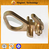 Customized investment casting silicon brass high voltage machinery fittings