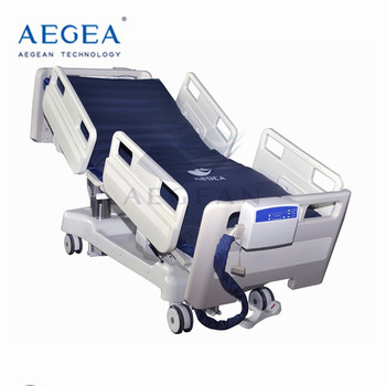 AG-BR002 7 functions three column mobile clinic icu room medicare adjustable bed manufacturer