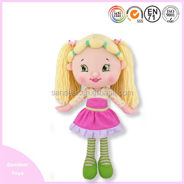 Company wholesale rang dolls/High Quality customized baby plush toys