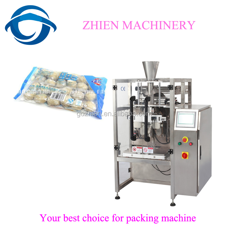 ZE-420AZ Full Automatic beef ball sealing packing machine