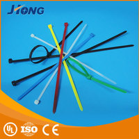 2015 factory manufacturer free sample self lock 100pcs package UV black releasable head cable ties