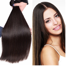 Alibaba peruvian Virgin Hair Extension 7A Straight Hair, 18 inch remy human hair weft, 100% Virgin