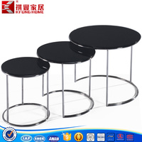 glass tea table design