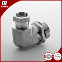 Adjustable Galvanized Steel Pipe Fitting SS316 Forged Elbow Fitting