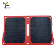 phone accessories solar charger 5v with usb out put mobile phone