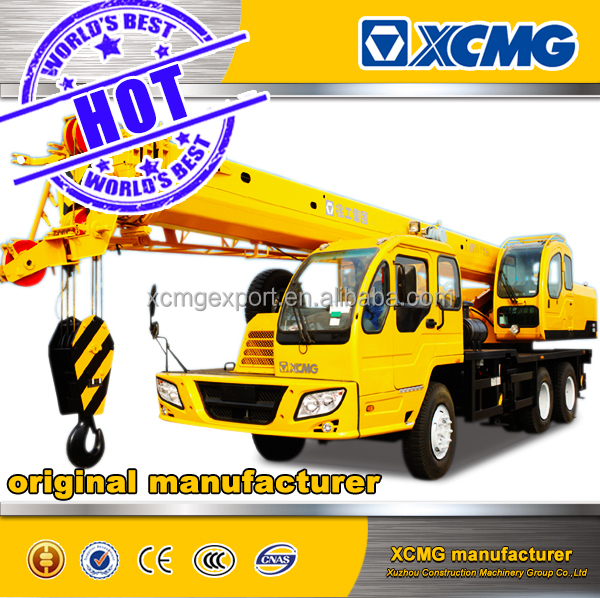 XCMG official manufacturer QY16B.5 16ton used pickup truck crane