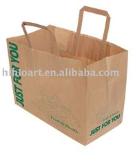 Food Kraft Paper Bags with Handle