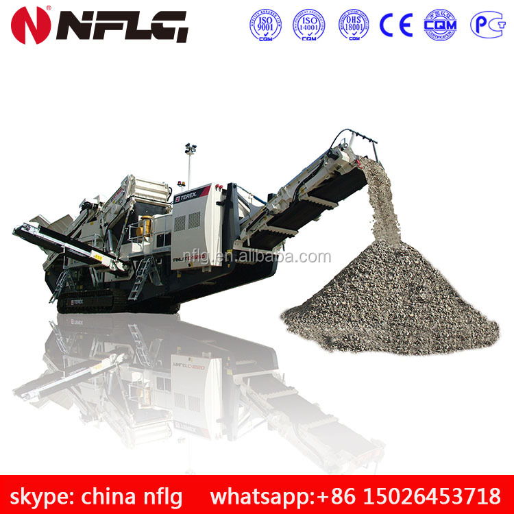 China manufacturer best price for mobile stone crusher