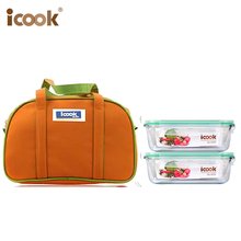 Pyrex Bento Lunch Box set for School Kids with Tote Bag