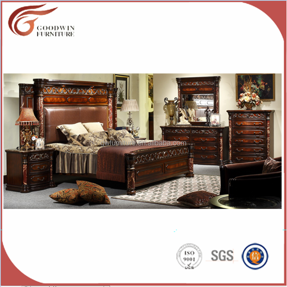 wa135 antique eourpean style bedroom furniture of solid wood bed buy