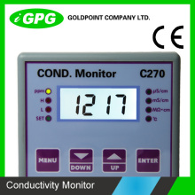 CE Confirmed C270 Digital water resistivity/conductivity/TDS controller in China