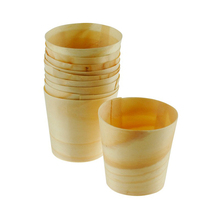 Bait cups disposable wooden pp cup for sale