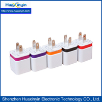new design 2 USB charger for mobile phone