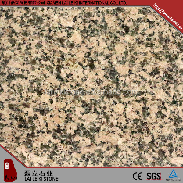 Modern style Rosa-porrino african style red bush hammered granite