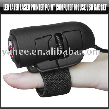 LED Laser Pointer Point Computer Mouse USB Gadget,YAN100A