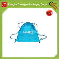 2015 blue waterproof oxford drawstring bag (OX-369)