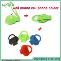 10 Years Factory Price Universal ABS Plastic Wall Mount Cell Phone Holder for HTC Smartphone