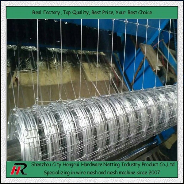 High quality used galvanized 1.5~2.4m high fixed knot dog fence for sale