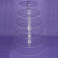 High Strength 7 Layer Plexiglass Cake Disc, 3 Years Quality Assurance